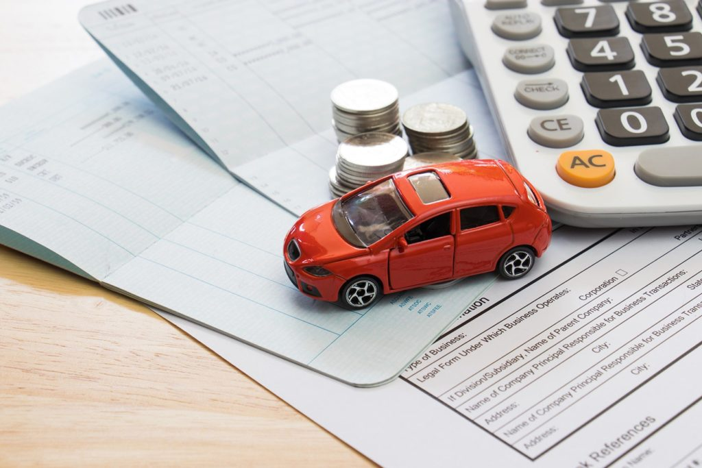 Vehicle tax calculation